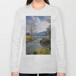 Llyn Gwynant Long Sleeve T-shirt