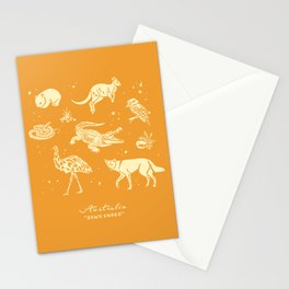 Animals of Australia Stationery Cards