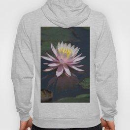 Aquatic pastel flower Hoody