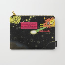 Title: Bird of Steel Comix - Page #2 of 8 (Society 6 POP-ART COLLECTION SERIES) Carry-All Pouch
