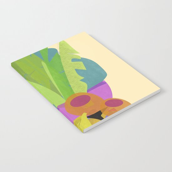 Tropical Breakfast Notebook