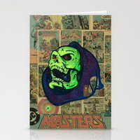 skeletor Stationery Cards featuring Skeletor by Beery Method
