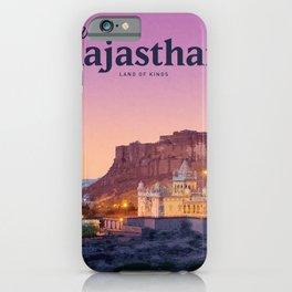 Visit Rajasthan iPhone Case