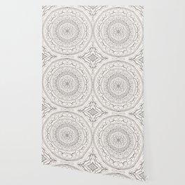 Black & White Lace Wallpaper