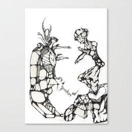 Tortured Stiff Canvas Print