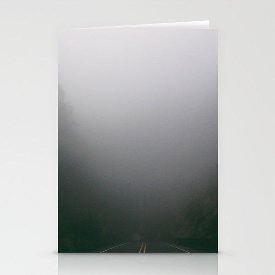 Foggy Tunnel Stationery Cards