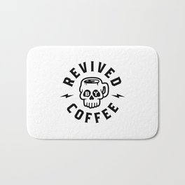 Revived By Coffee v2 Bath Mat