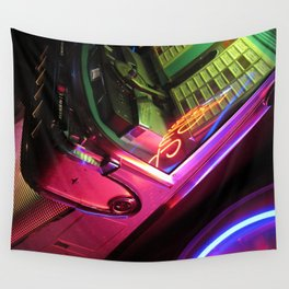 Jukebox Wall Tapestry
