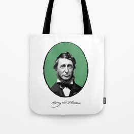 Authors - Henry David Thoreau Tote Bag