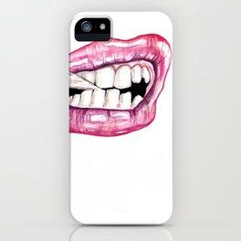 Juicy Lip iPhone Case