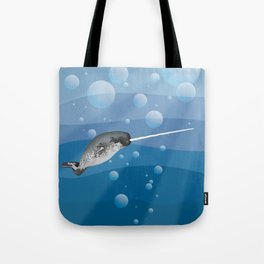Gnarly Narwhal Tote Bag