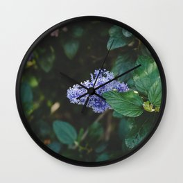 Botanical Dreams Wall Clock