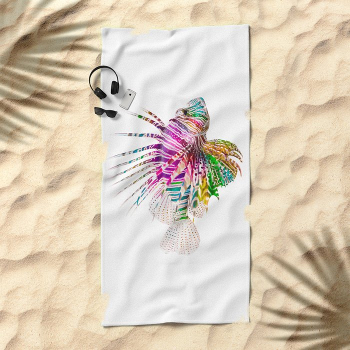 When I Dream of Lionfish Beach Towel