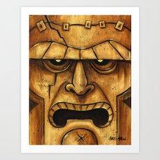 TIKI Frankenstein Art Print