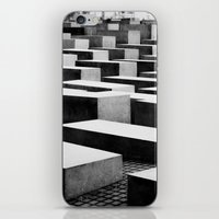 berlin iPhone & iPod Skins featuring Berlin by Studio Laura Campanella