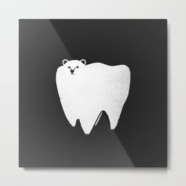 Molar Bear Metal Print