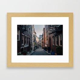 The North End, Boston Framed Art Print