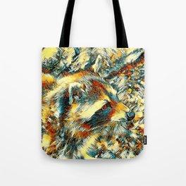 AnimalArt_Raccoon_20180106_by_JAMColors Tote Bag