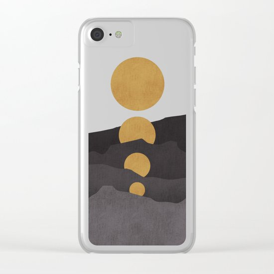 Rise of the golden moon Clear iPhone Case