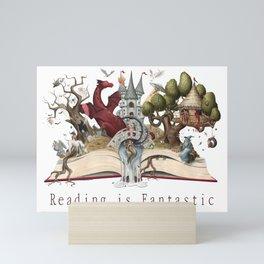Reading is Fantastic Mini Art Print