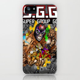 Beyond the grave iPhone Case