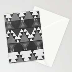 Aztec Grey Stationery Cards