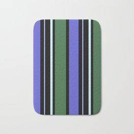 Stripes in colour 6 Bath Mat