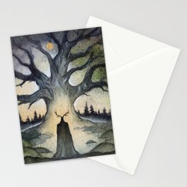 King of the Ancient Forest Stationery Cards