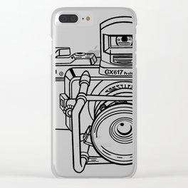 Fuji GX Camera Clear iPhone Case