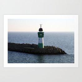 Rügen Lighthouse Art Print