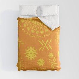 constructive magic mandala Comforters