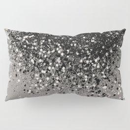 Silver Gray Glitter #1 #shiny #decor #art #society6 Pillow Sham