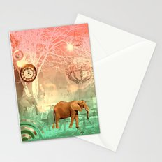 Elephants in the Ballroom Stationery Cards