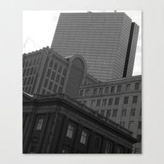 Architecture of Back Bay Canvas Print