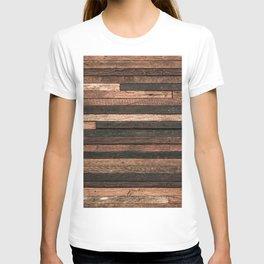 Vintage Wood Plank T-shirt