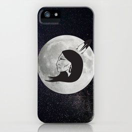 Grandmother Moon iPhone Case