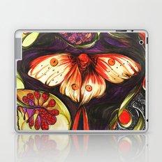Moon Flower Moth Laptop & iPad Skin