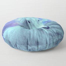 Blue Horse Celestial Dreams Floor Pillow