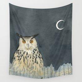 Owl. Gufo. Saggezza. Wisdom Wall Tapestry
