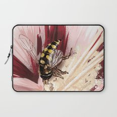Wasp on flower 7 Laptop Sleeve