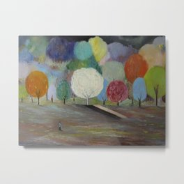 Symphony of Colours Metal Print