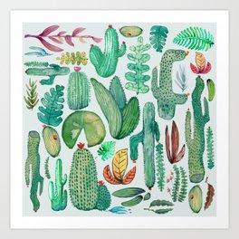 Watercolor Nature Art Print