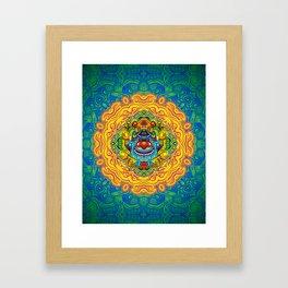 God of Absurdity Framed Art Print