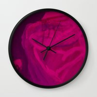 contemporary Wall Clocks featuring #Contemporary  by alaskadarling