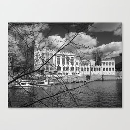York Guildhall on the river Ouse Canvas Print