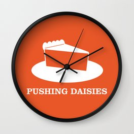Pushing Daisies Wall Clock