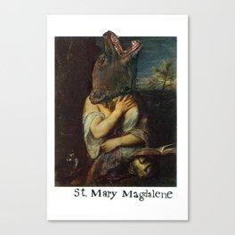 St. Mary Magdalene Canvas Print