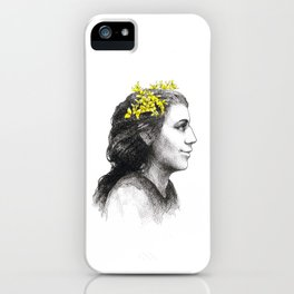 The spanish broom girl iPhone Case