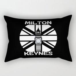 Milton Keynes Great Britain  Big Ben Rectangular Pillow