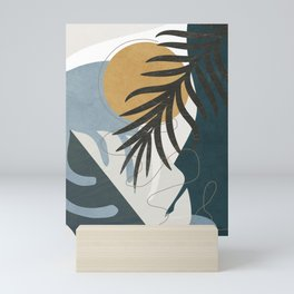 Abstract Tropical Art II Mini Art Print